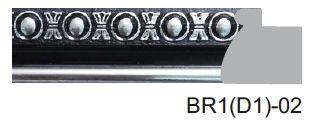 BR1(D1)-02 Designer Moulding