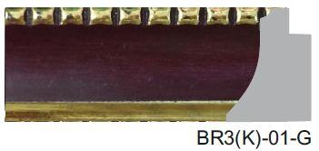 BR3(K)-01-G Designer Moulding