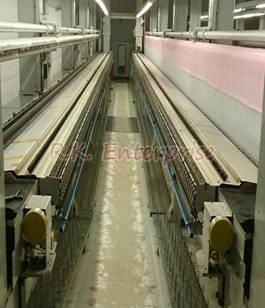 Used Lasser MD Series Schiffli Embroidery Machine