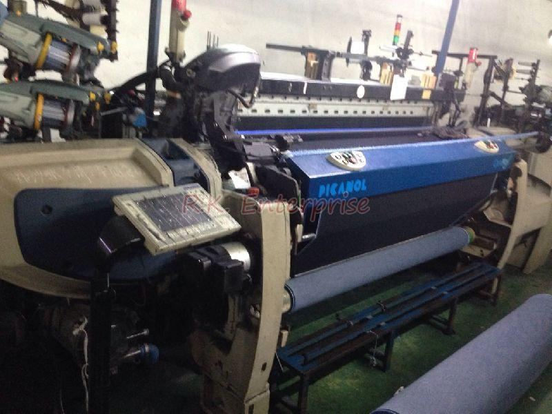 Used Picanol Optimax Rapier With Electronic Dobby Loom 02