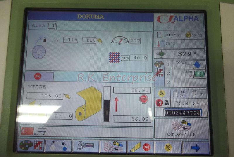 Used Somet Alpha Rapier With Electronic Dobby Loom 01