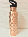 Diamond Copper Bottle With Sipper