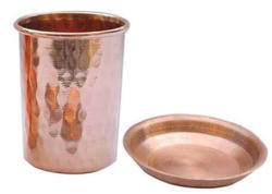 Copper Tumbler With Lid