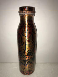 Printed Milk Copper Bottle