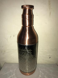 Nickle Matt Finish Copper Wine Bottle