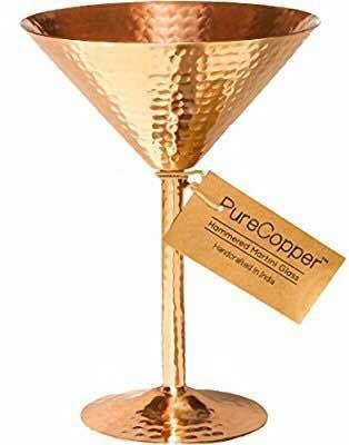 Copper Wine Goblet