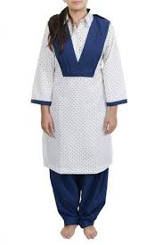 Girls Salwar Kameez School Uniform 05