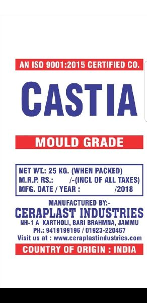 Mould Sanitary Ware Grade Plaster of Paris
