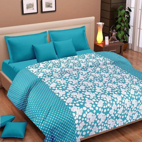 Bombay Dyeing 100% Cotton Double Bed Dohar Set