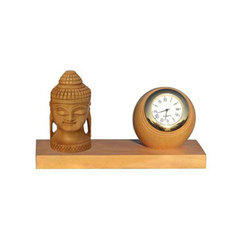 Wooden Buddha Table Watch