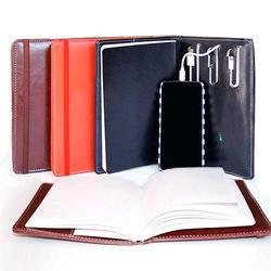 Diary & Power Bank Set 01
