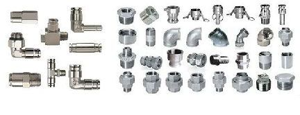 Stainless Steel Threaded Pipe Fitting 02