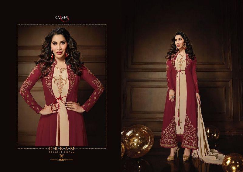 10080 Karma Jacket Style Designer Salwar Suit