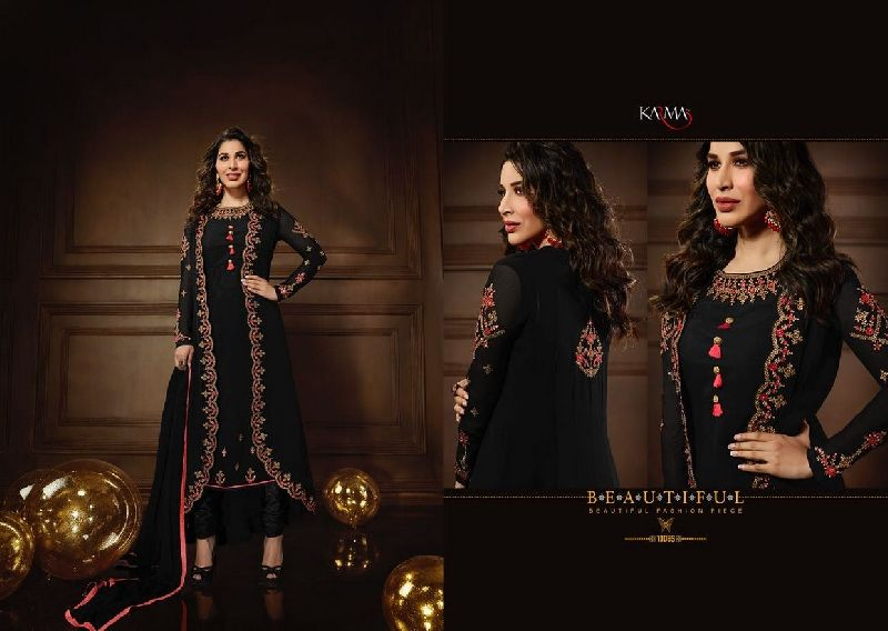 10085 Karma Jacket Style Designer Salwar Suit