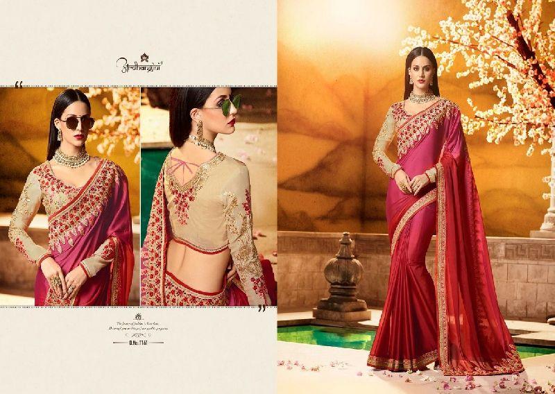 1161 Ardhangini Sakhi vol 3 Bridal Designer Saree