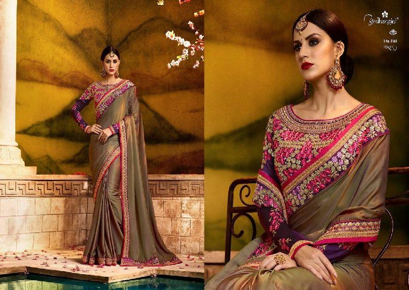 1166 Ardhangini Sakhi vol 3 Bridal Designer Saree