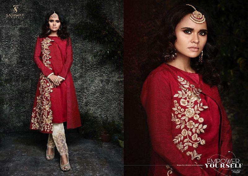 4071 Sajawat Taj Vol 2 Pakistani Salwar Suit