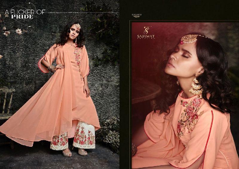 4072 Sajawat Taj Vol 2 Pakistani Salwar Suit