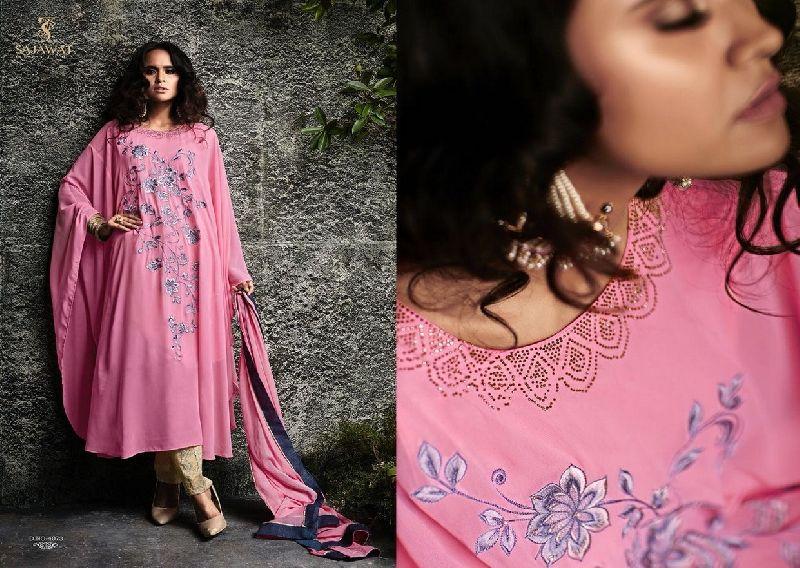 4073 Sajawat Taj Vol 2 Pakistani Salwar Suit