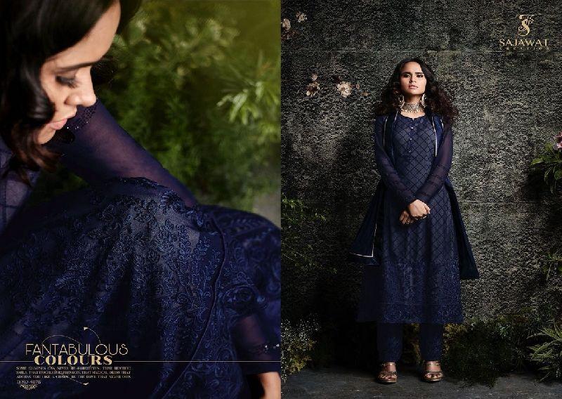 4075 Sajawat Taj Vol 2 Pakistani Salwar Suit