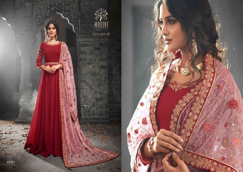 49003 Mohini Glamour Vol 49 Partywear Anarkali Suit