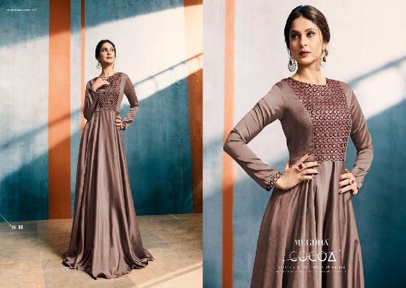 5009  Mugdha Elite Style Anarkali Style Kurti Gown