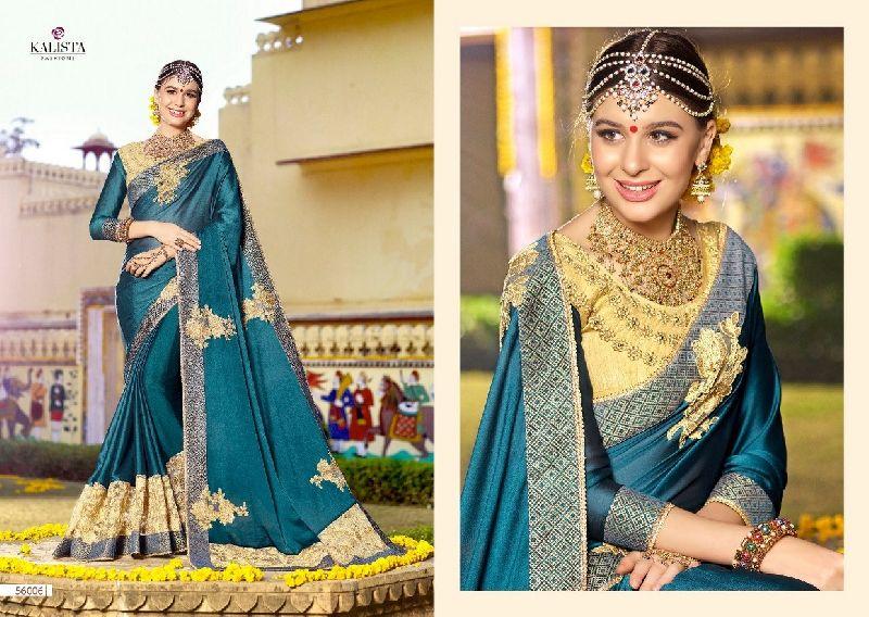 56006 Kalista Nazakat Designer Saree