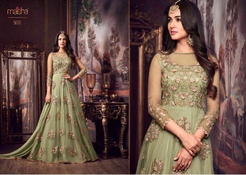 5603 Maisha Maskeen Shayra eid Colection Party wear Suit
