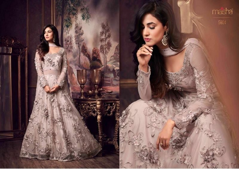 5604 Maisha Maskeen Shayra eid Colection Party wear Suit