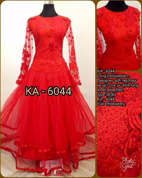 6044 KA Designer Long Gowm