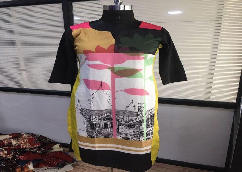 Crepe Designer Kurti 03