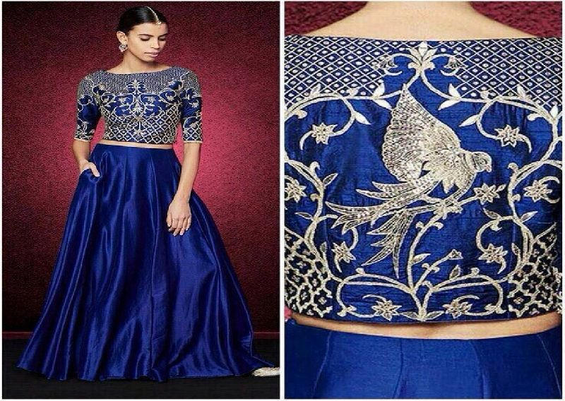 Leh02 Blue Queens Lehenga Choli