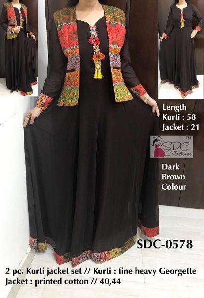 SDC-0578 SDC Partywear Gown