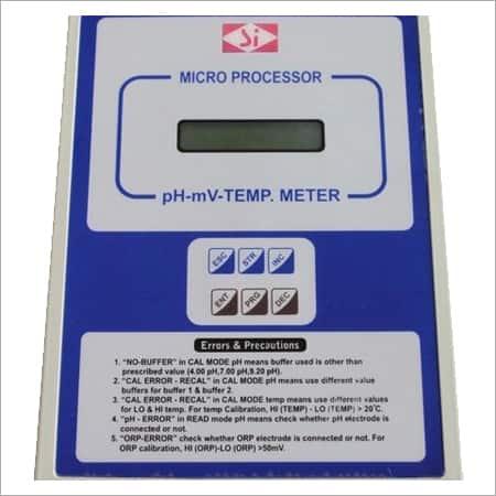SI-144 Microprocessor pH Meter