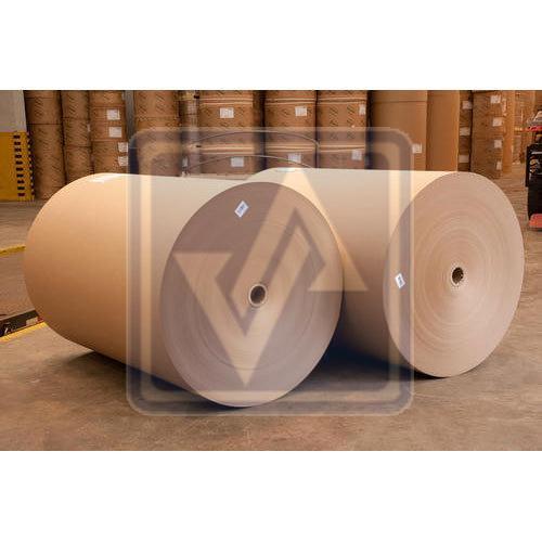 Virgin Top Kraft Liner Paper Rolls