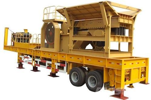 Mobile stone crusher