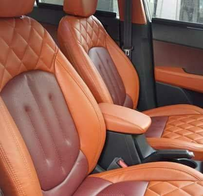 Spyder PU Leather Car Seat Cover 01