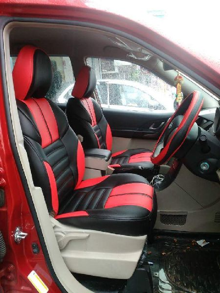 Spyder PU Leather Car Seat Cover 03