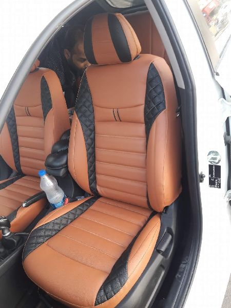 Spyder PU Leather Car Seat Cover 04