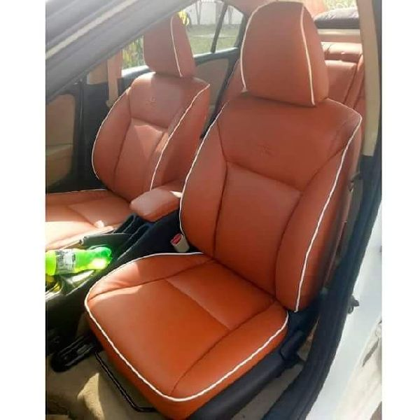 Spyder PU Leather Car Seat Cover 06