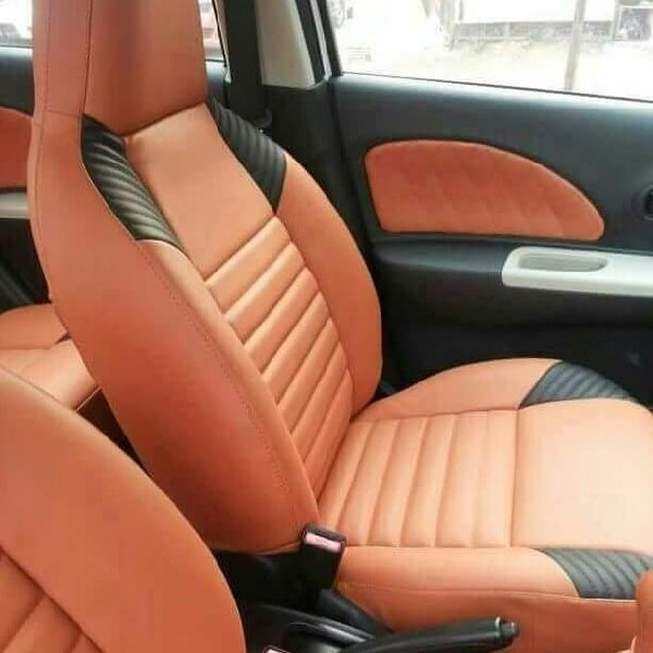 Spyder PU Leather Car Seat Cover 07