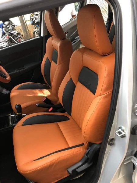 Spyder PU Leather Car Seat Cover 08