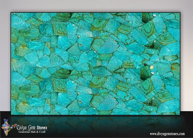 Amazonite Graphic Slab