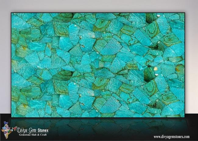 Amazonite Graphic Slab