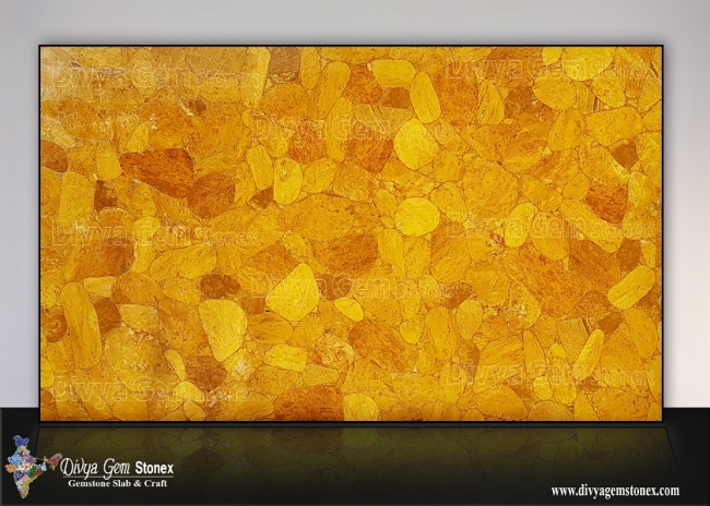 Yellow Jasper Slab