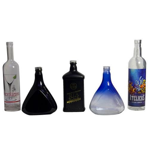 Decorative Glass Bottle 01