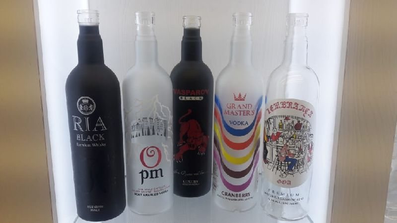Decorative Glass Bottle 02