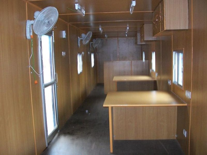 Interiors Of Prefabricated Structures