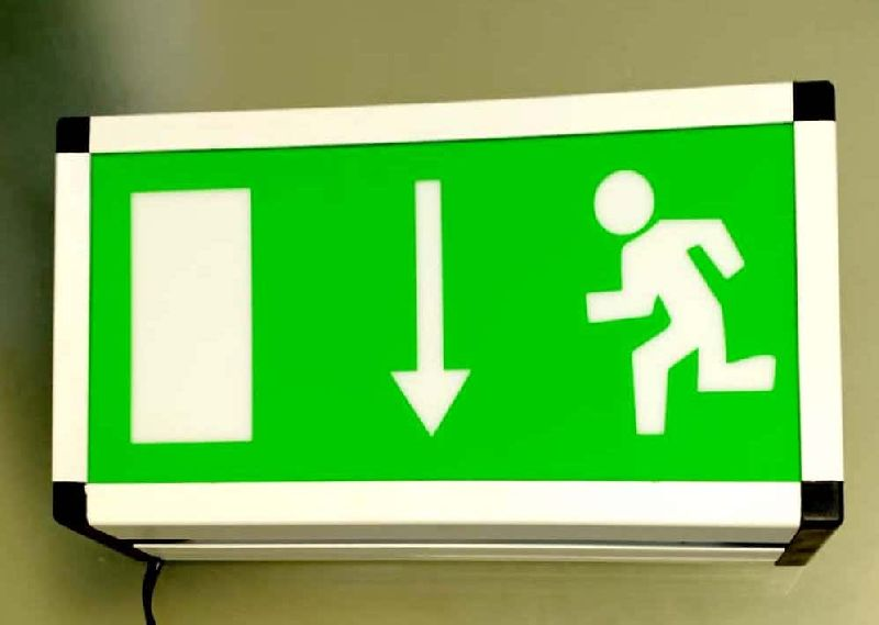LED Exit Sign Board 02