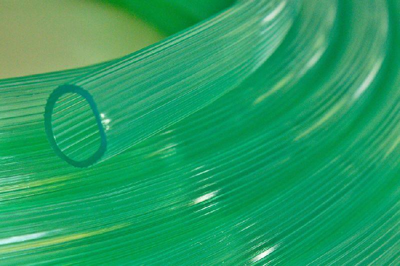 PVC Green Transparent Pipe 01